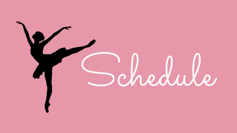 スケジュール│宮崎市のバレエ教室 Nana Ballet Arts