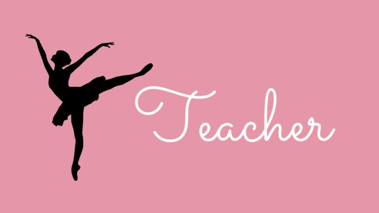 バレエ講師│宮崎市のバレエ教室 Nana Ballet Arts
